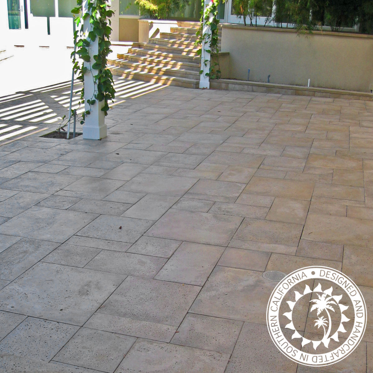 Roman Pavers Handcrafted 2 Thick Concrete