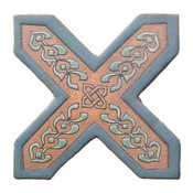 6X6 2C Cross Picket CD-A