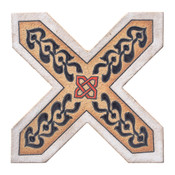 6X6 2C Cross Picket CD-C