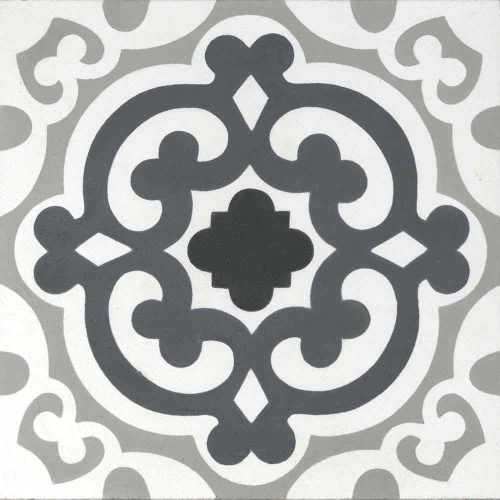 8x8 Matilija Cement Tile