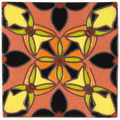 Handpainted Tile Sample - 6x6 SD111C